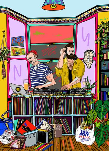 'Braumans DJ', August 2020.