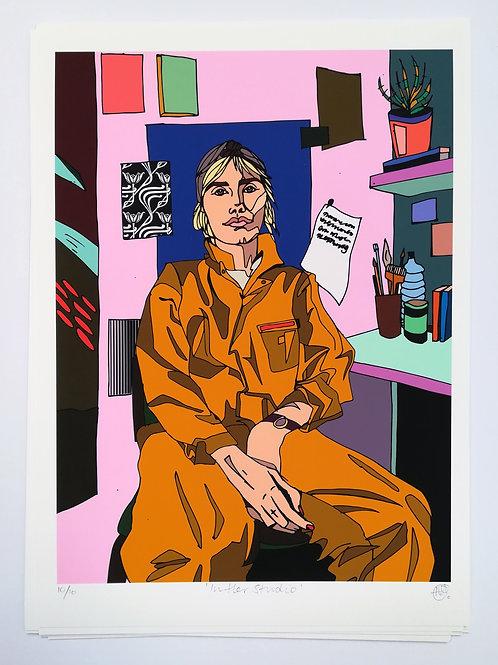 'In Her Studio'