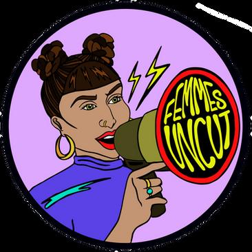 'Femmes Uncut', Logo design, 2020.