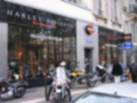 Harley Davidson balade moto Paris Bastille Chapter