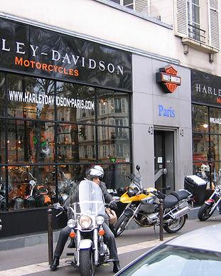 ATS harley Davidson paris bastille