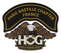 paris bastille chapter club harley paris