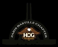 paris bastille chapter club moto harley