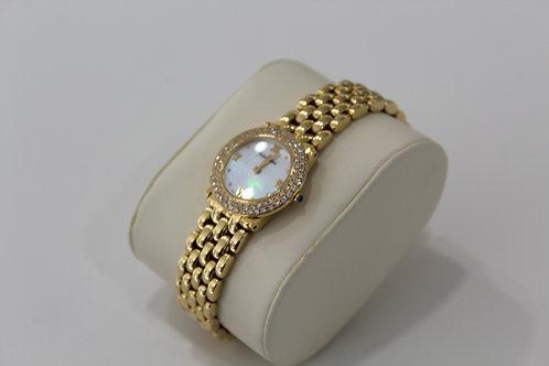 Touraneau 18k Gold Diamond Ladies Watch