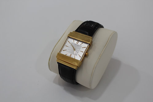 "18K Gold Concord Crystale ""Top Hat"" Watch"