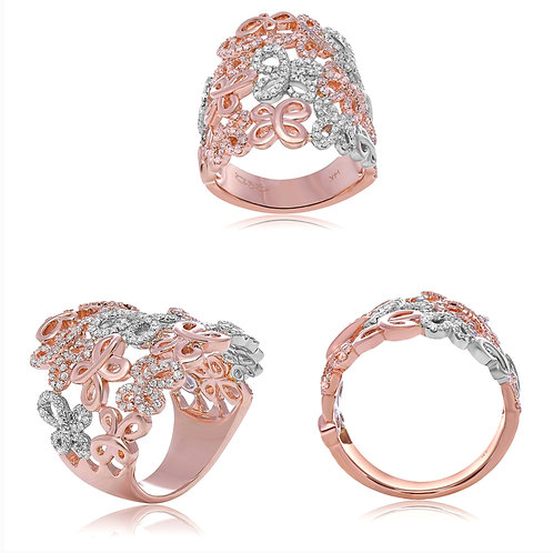 WR BUTTERFLY RING .97RD