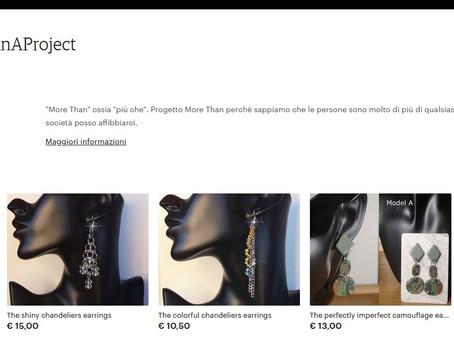 More Than A Project sbarca su Etsy!