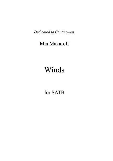 Winds SATB