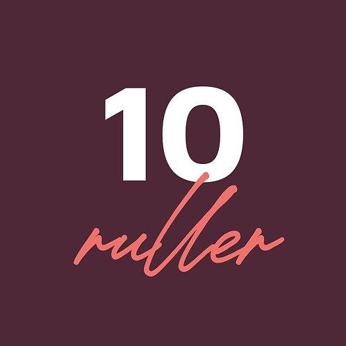 10 RULLER | 180 gram
