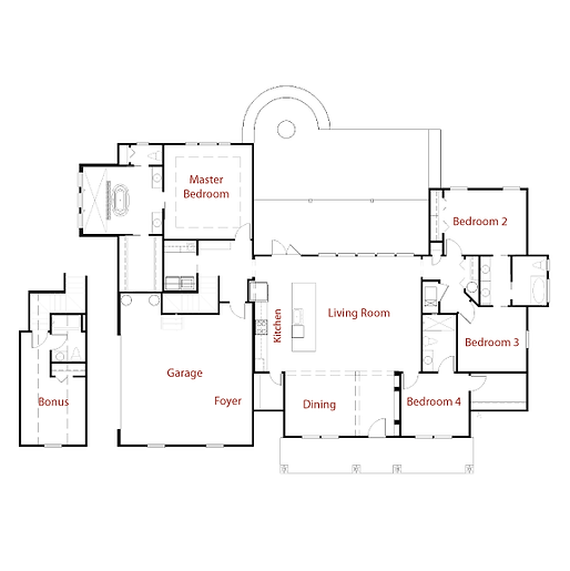 NASHVILLE II 9292 Floor Plan