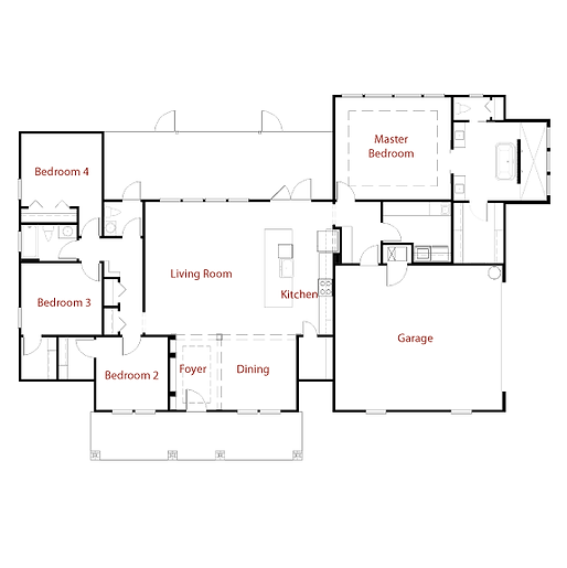 NASHVILLE II 9287 Floor Plan