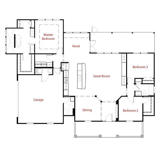 CUSTOM 9250 Floor Plan