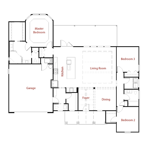 GRAYSON 9289 Floor Plan
