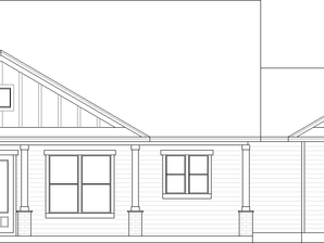 Wellington Elevevation B with Large Front Porch