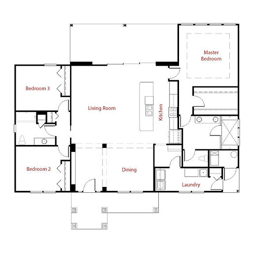 CUSTOM 9258 Floor Plan