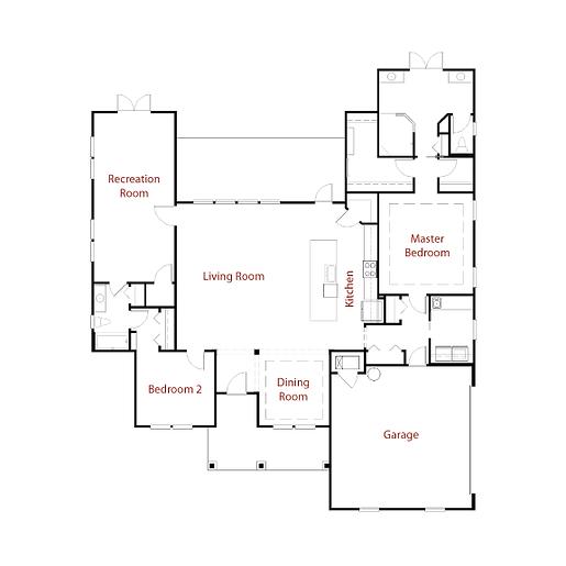 CHARELSTON 9274 Floor Plan