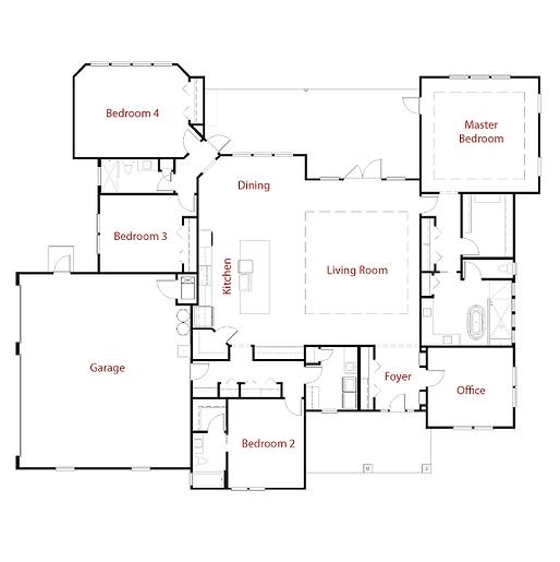 RIVERSIDE 9284 Floor Plan