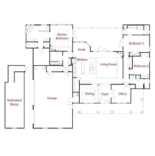 STRADFORD 9283 Floor Plan