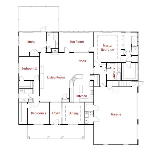 CUSTOM 9273 Floor Plan