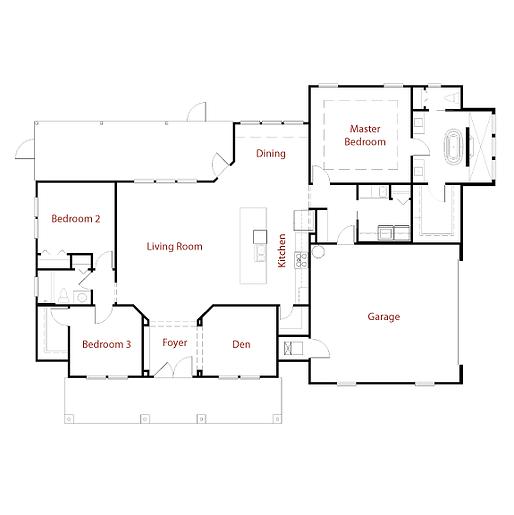HANDTKERESIDENCE Floor Plan
