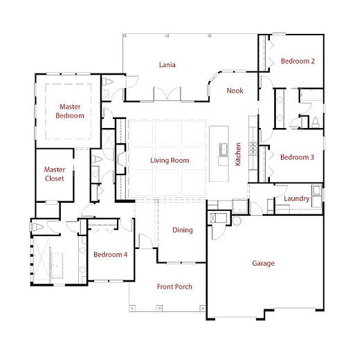 LAKEVIEW 9260 Floor Plan