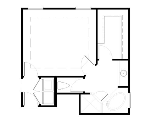 Grenada Floorplan Optional Master Suite