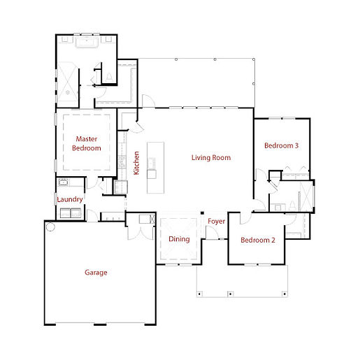 CHARLESTON 9271 Floor Plan