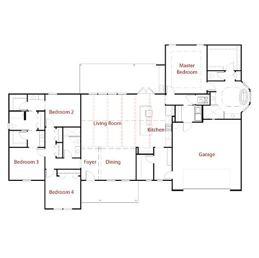 NEWPORTMODEL Floor Plan