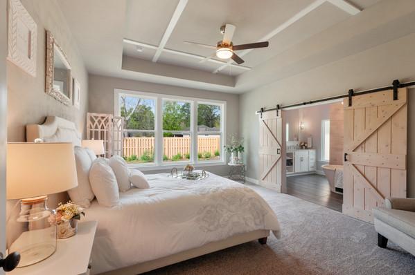 9294 Master Bedroom Barn Doors