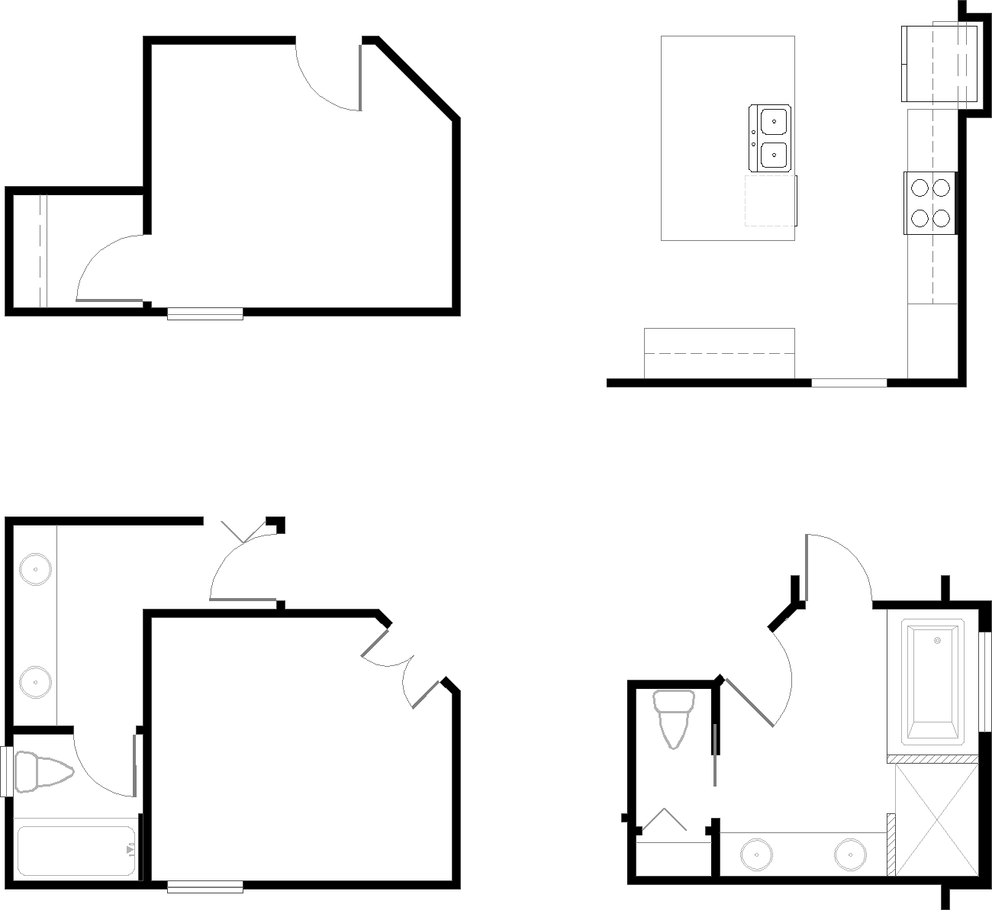 Greenville Floorplan Options