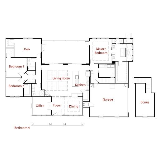WILLIAMSRESIDENCE Floor Plan