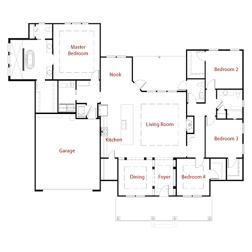 NASHVILLE II 9304 Floor Plan