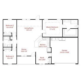 DOMINICA MODEL Floor Plan