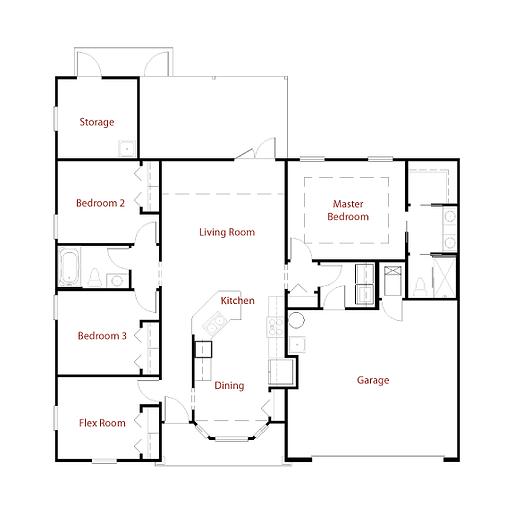 MARTINIQUE II 9281 Floor Plan