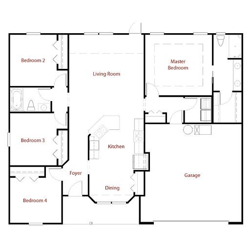GRENADA 9286 Floor Plan