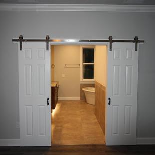 9283 (17) Master Bedroom Bathroom Doors.
