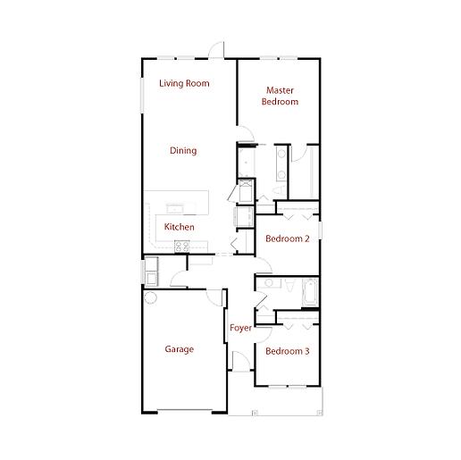 ISABELLA 9307 Floor Plan