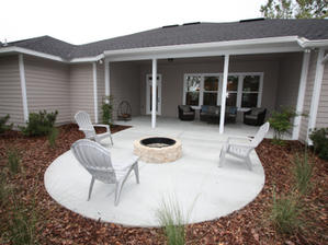 9262 Back Patio and Porch