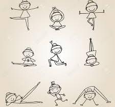 Yoga enfant ludique et créatif.