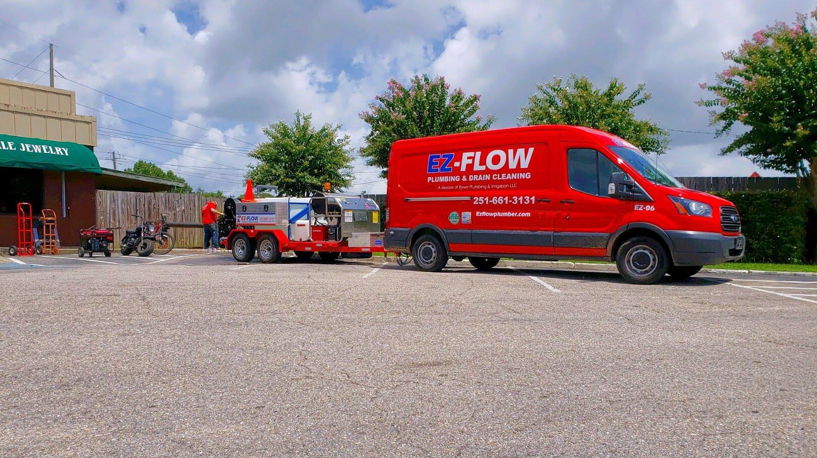 Ez Flow Plumbing Hydro Jetter Drain Cleaning