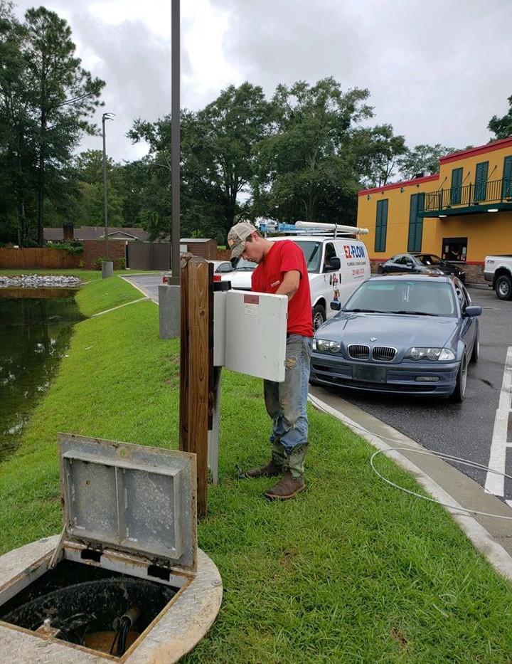 EZ-Flow Plumbing at Popeyes in Mobile Alabama