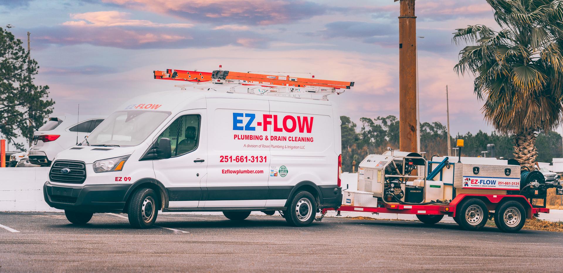 EZ-Flow plumbing van