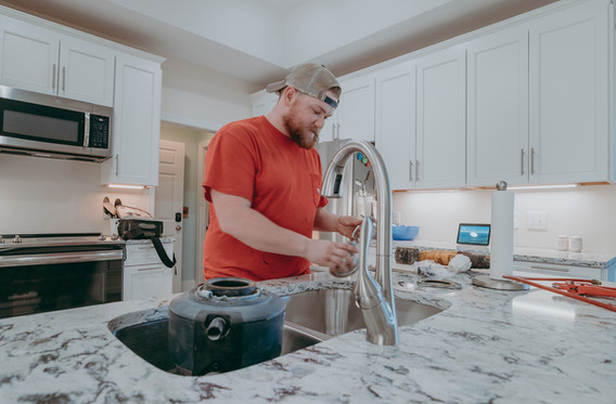 EZ Flow Plumbing and Drain Cleaning Faucet install