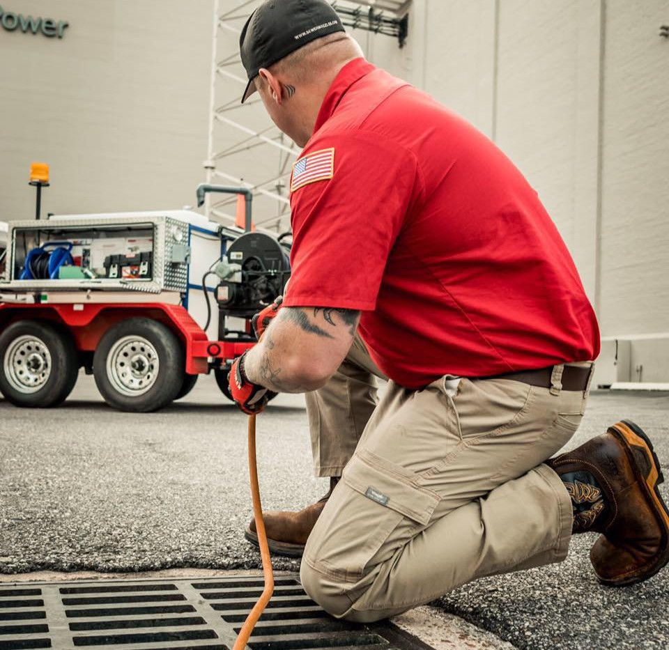 Ez Flow Plumbing Commercial down town Mobile Alabama Hydro Jetting