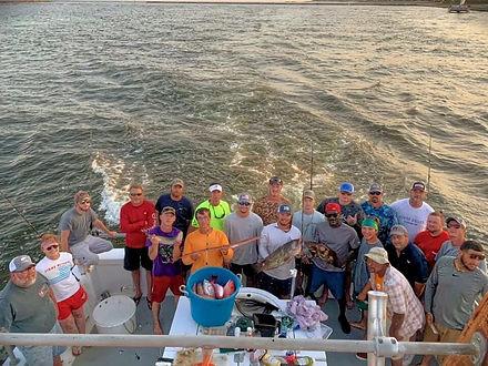 Annual Company fishing trip in Gulf Shores Alabama