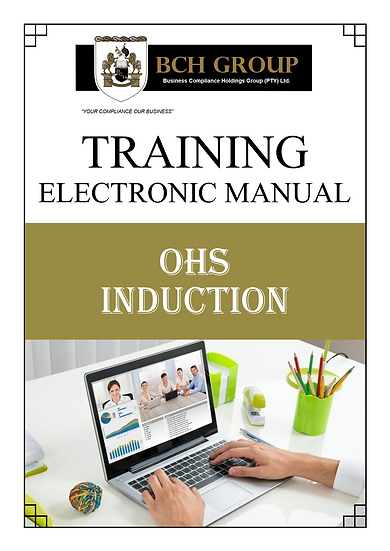 OHS TRAINING: Safety Induction