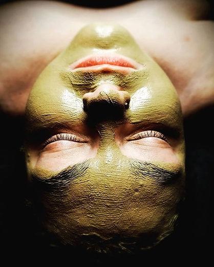 Customized Calming Tara Sana mask. This
