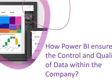 Setting up a  Power BI Master Data Model