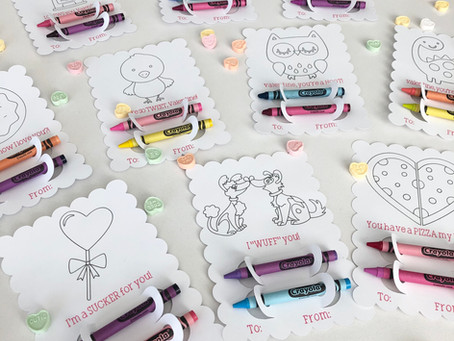 Cricut Homemade Valentines Cards! (Pen and Marker Holders)