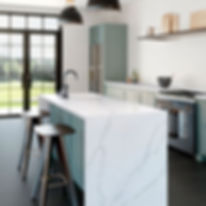 Silestone-Kitchen---Eternal-Calacatta-Go